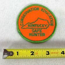 "Kentucky Conservation Education Safe Hunter Patch 3"""