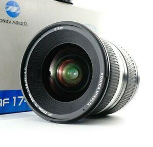 Near MINT Minolta AF 17-35mm F2.8-4 D Lens for Sony Minolta A Mount From JAPAN