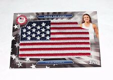 2016 Topps PAIGE SELENSKI Silver Foil USA Flag Patch/99 US Olympic Field Hockey