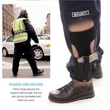Hidden Carry Ankle Leg Gun Holster Mag Pouches Bag For GLOCK Pistol Black