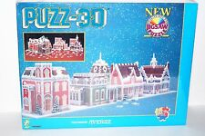 Victorian Avenue, 1008 Piece 3D Jigsaw Puzzle Made by Wrebbit Puzz-3D