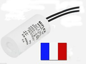 Condensateur de démarrage 4uF/4μF/4UF moteur volet roulant Bubendorff