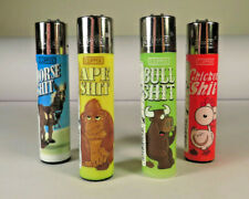 8 pcs New Refillable Clipper Lighters Animals With 3D Glasses Design