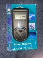 Samsonite Nos Sound Relaxer Traveling Sound Machine Alarm Clock New. Vintage