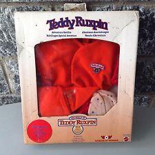 vintage 90s rare #WOW TEDDY RUXPIN OUTFITS pigiama sleeping NIB