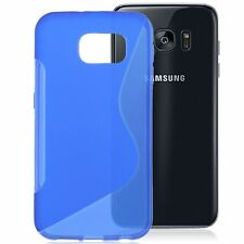 S-Line Wave Soft TPU Gel Silicone Case Cover Samsung Galaxy Smart Phone