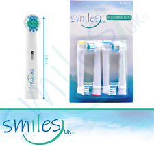 SMILES UK Toothbrush Heads Compatible With ALL Oral B Braun Tooth Brush Head