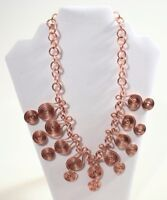 Gorgeous Copper Wired Wrapped Necklace