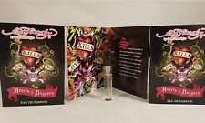 Ed Hardy by Christian Audigier Hearts & Daggers ladies EDP sample sprays x 6