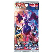 Japanese Pokemon Booster Pack - Sun and Moon - Ultra Force SM5+