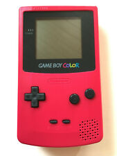 Nintendo GameBoy Color Konsole Handheld Rot Pink #85