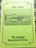 75 Ans Dépôt BB 1935 - 1985 HN2 Å