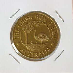Australia ghost gum emu Melbourne Central Token (SH4/83)