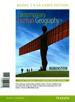 Contemporary Human Geography, Books a la Carte Plus Masteringgeography with...