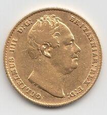 1837 William IV Gold Sovereign - Great Britain