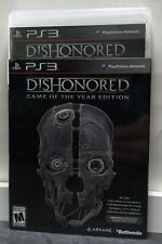 Dishonored Game Of The Year Edition Sony PlayStation 3 PS3 New Sealed
