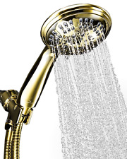 Brass 2.5 GPM Shower Head Faucet Hand Held Massaging Hose Nozzle Spray