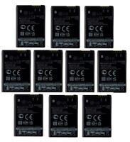 KIT 10x 1000mAh Replacement Battery (LGIP-520N) for LG Chocolate / GD900 / GW505