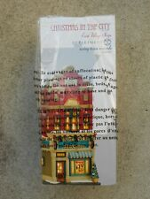 Dept 56 Christmas In The City Swing Town Records Nib *Still Sealed*