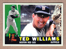 Ted Williams '60 Boston Red Sox custom card by Bob Lemke '60 style #573