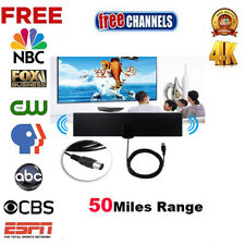 Super Antenna TVFox HD High Definition Free TV Fox HDTV UHF VHF 50 Miles Indoor