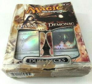 Magic The Gathering Divine vs Demonic Duel Decks Set complet  Envoi rapide suivi