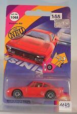 Siku 1/55 Nr. 1068 Porsche 959 rot OVP #1149