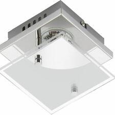 Briloner LED Deckenleuchte Wandleuchte Chrom, 250lm 3 Watt 3000K, IP20, EEK: A+