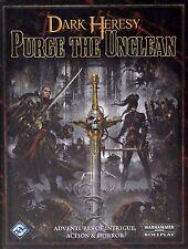Dark Heresy - Purge the Unclean Book Fantasy Flight Games - Warhammer 40,000 RPG