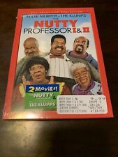 The Nutty Professor I  II (DVD, 2006, The Franchise Collection) Eddie Murphy NEW