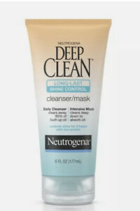 Neutrogena Deep Clean Long-Last Shine Control Cleanser 6 oz Discontinued