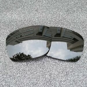 Polarized Replacement Lenses For-Oakley Jupiter Squared Frame Silver OO9135