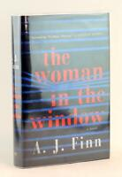 A J Finn Signed 1st Edition 2018 The Woman in the Window Hardcover w/Dustjacket