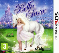 Nintendo 3ds Bella sara the Magical HORSE ADVENTURES DS jeu jeu d'enfant NEUF OV