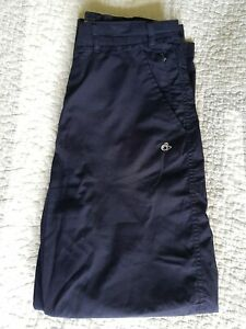 """CRAGHOPPERS Navy Blue Classic Kiwi Trousers - Size 14 S 30"""" Waist Womens Hiking"""