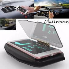 Universal Car Mobile GPS Navigation Halterung HUD Head Up Display Für Smartphone