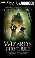 Sword of Truth: Wizard's First Rule 1 by Terry Goodkind (2014, MP3 CD,...