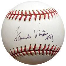 Fernando Vina Autographed Signed MLB Baseball Cardinals, Mets Beckett COA E95270
