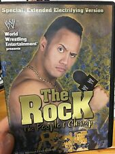 WWE The Rock The People's Champ region 4 DVD (wrestling) * * RARE * *
