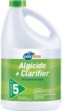 Pool Algaecide With Clarifier 128 oz. Control Algae And Clear Cloudy Water