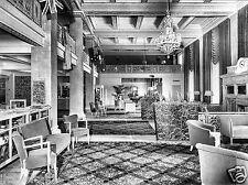 1945 Newark Athletic Club Lobby Broad Street New Jersey 8 x 10 Photograph