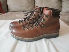New Norberto Costa Men's Leather Boots, Brown, Size 11, Made in Portugal