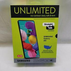 💯STRAIGHT TALK Prepaid PICK YOUR PHONE SAMSUNG Galaxy A51, A10e📱Apple iPhone 7