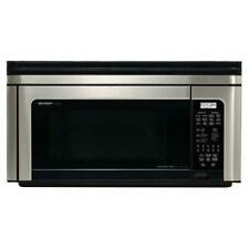 Sharp 1.1 cu. ft. Over-the-Range Microwave Convection Oven R-1880Lst Dmg #1