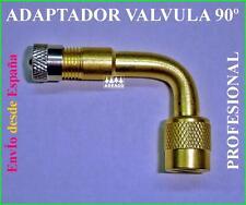 ADAPTADOR ALARGADOR EXTENSOR DE VALVULA 90º TUBELES NEW TYRE VALVE EXTENDED
