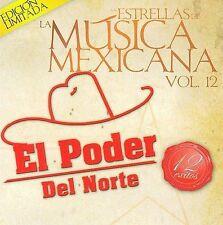 El Poder Del Norte : Estrellas De La Musica Mexicana CD