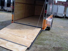 12' enclosed cargo trailer free Harley Davidson decals