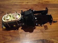 "Jeep CJ 7""  powder coated Brake booster & 1 1/8"" bore master cylinder w/brackets"