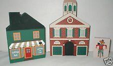 Cats' Meow 3 pc. Bank & Attorney 1984 - Philadelphia Head House -Scarecrow-