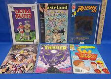Comic Books Wastland Robin III Ultra Klutz Thriller Doom Patrol Beavis  Lot of 6